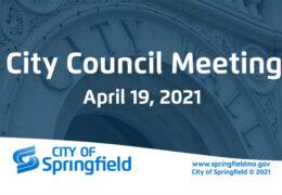 City Council Meeting – April 19, 2021