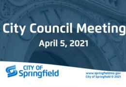 City Council Meeting – April 5, 2021