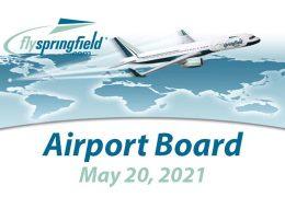 Airport Board Meeting – May 20, 2021