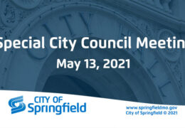 Special City Council Meeting- May 13, 2021