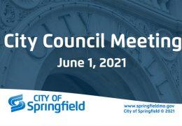 City Council Meeting – June 1, 2021
