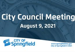 City Council Meeting – August 9, 2021