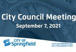 City Council Meeting – September 7, 2021